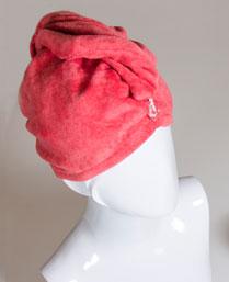 Spaces Cinnabar Turbie Women Hair Towel 1022253