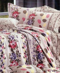 Bliss MultiColor 3pc Double Bedsheet Set 15014