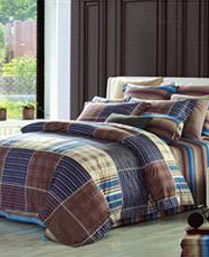 Spread MultiColor 3pc King Bedsheet Set 2501