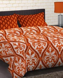Portico New York Multi Colour Cadence Bedsheet 9043541