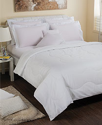 Portico New York White Seacell King XL Bedsheet with 2 Pillow Cover 9050491