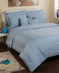 Portico New York Blue Seacell King XL Bedsheet Set 9050511