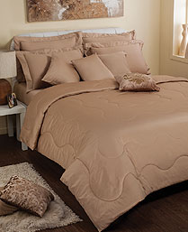 Portico New York Sand Seacell King XL Bedsheet Set 9050531