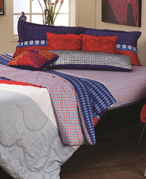 Portico New York MultiColor Eldora Double Comforter 9062711