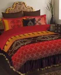 Portico New York Multi Colour Neeta Lulla King Bedlinen Set 9063181