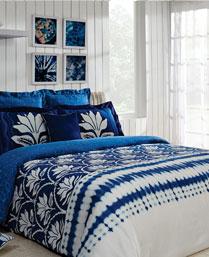 Portico New York Multi Colour Indigo Bedlinen 9064211