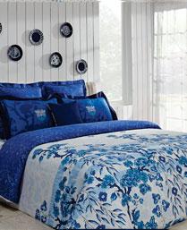 Portico New York Multi Colour Indigo Bedlinen 9064241