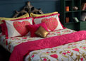 Portico New York Pink & Gold 300TC Bed linens from Manish Arora Heart collection 9070262
