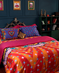 Portico New York MultiColor 300TC Bed linens from Manish Arora Signature Collection 9070311
