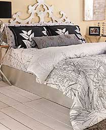 Portico New York White Evita 3pc King Bedsheet Set 9070501