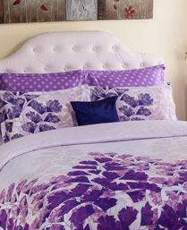Portico New York Lavender Evita Bedlinen 9070572
