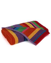 Stellar Home USA Pink Bands Bath Towel 9300204