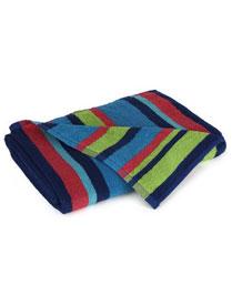 Stellar Home USA Multi Colour Bands Bath Towel 9300206