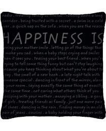 Portico New York Black Happiness is cushions regular 9342283
