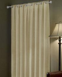 Portico New York Ivory Enwrap Curtain 9360011