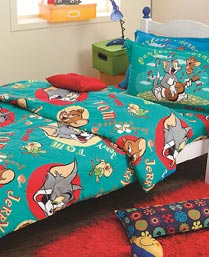 tom and jerry bedsheet set (double) 9740252