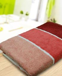 Portico New York MultiColor Preppy Stripes Bath Towel 9800103