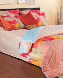 Portico New York Peach Elena Bedlinens 9900811