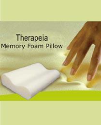 Portico New York White Therapeia Memory Foam Pillow 9950171