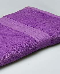 St. Cloud Purple 100% Bamboo Organic Cotton Bath Towel BAM003