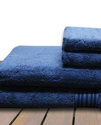 Christy Midnight Blue Supima Cotton Towels Christy001