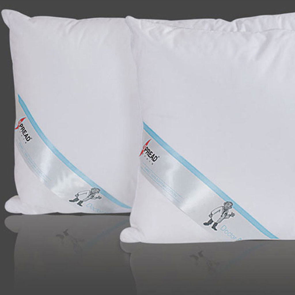 White Doctor Pillow