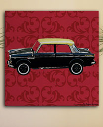 the elephant company taxi solo wall art HWAWA515