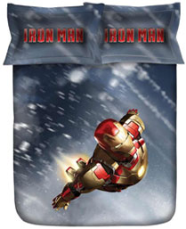 Stoa Paris Lt. Blue Iron Man 300TC Bedlinens IM33103