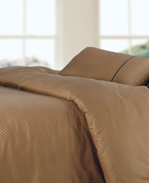 Spread Brown Oxford King Fitted Sheet Set OXFORDBROWNFITTED