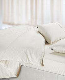 Spread Cream Oxford King Fitted Sheet Set OXFORDCREAMFITTED
