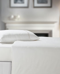 Spread White Oxford King Fitted Sheet Set OXFORDWHITEFITTED