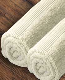 Welspun Pearl Zero Twist Hand Towel set of 2 pieces Pearl