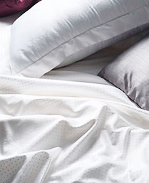 Stoa Paris White 300 Thread Count Cotton King Bedsheet Set STP30013
