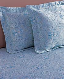 Stoa Paris Multi 300 TC Cotton King Bedsheet with 2 Pillow Cover STP30045