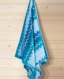 Esprit Turquoise Cotton Terry Towels TL21002