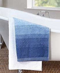 Esprit Blue Cotton Terry Towels TL25001