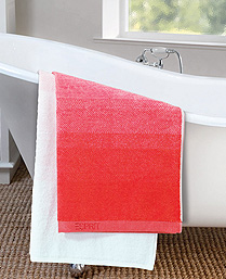 Esprit Red Cotton Terry Towels TL25002