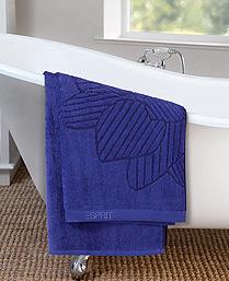 Esprit Blue Cotton Terry Towels TL27001
