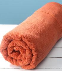 Welspun Teracotta Zero Twist Towel Teracotta