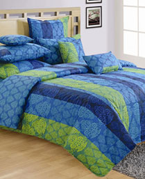 Swayam Blue Shades Of Paradise Winter Quilts WCS011302