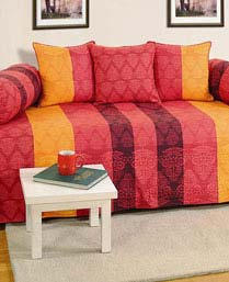 Swayam Red Shades Of Paradise Winter Quilts WCS011303