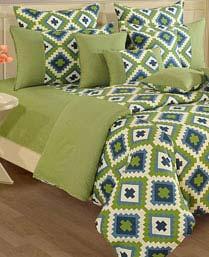 Swayam Green Shades Of Paradise Winter Quilts WCS011408
