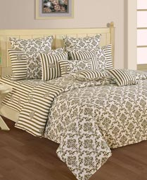 Swayam Beige Shades Of Paradise Winter Quilts WCS011409