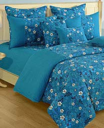 Swayam Blue Shades Of Paradise Winter Quilts WCS011416