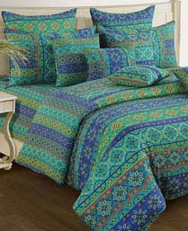 Swayam Multi Blue Shades Of Paradise Winter Quilts WCS011423