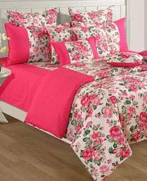 Swayam Pink Shades Of Paradise Winter Quilts WCS011428